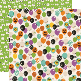 "Say Cheese Halloween FaBOOlous! Double Sided 12x12"" - Unit of 5"
