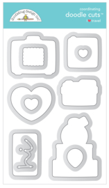 I ♥ Travel Doodle Cuts - unit of 1
