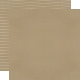 "Oatmeal Textured Cardstock Double Sided 12x12"" - Unit of 5"