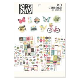 Hello Sticker Tablet - Unit of 3