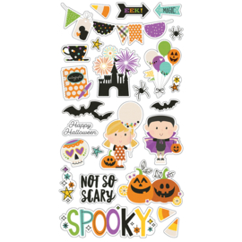 Say Cheese Halloween 6x12 Chipboard - Unit of 3