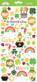 Lots o' Luck  Icon Stickers   - Unit of 3