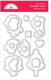 Christmas Magic Doodle Cuts - unit of 1