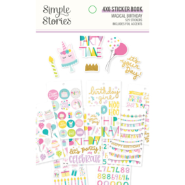 Magical Birthday  Sticker Book - Unit of 3