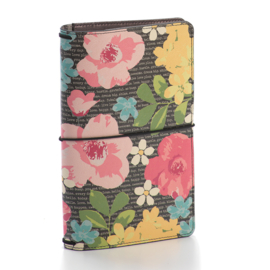 Typewriter Floral Traveler's Notebook- Unit of 1