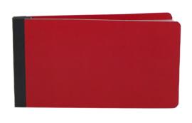 4x6 SN@P! Flipbook - Red - unit of 3