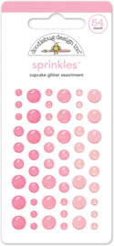 Cupcake Glitter Sprinkles - Unit of 3