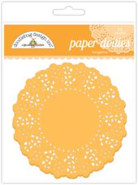 Tangerine Doilies - Unit of 3
