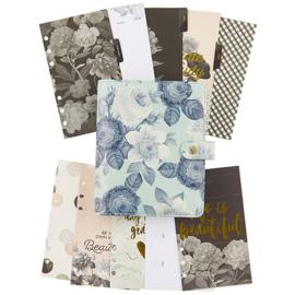 Mint Vintage Floral Personal Planner Boxed Set- Unit of 1