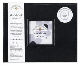 Beetle Black Storybook Album 8x8 - Unit of 1