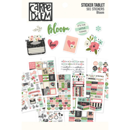 Bloom Sticker Tablet - Unit of 3