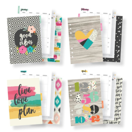 A5 Good Vibes Monthly Planner Inserts- Unit of 3