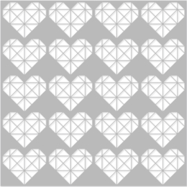 Hey, Crafty Girl 6x6 Stencil - Unit of 3