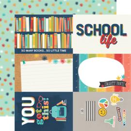 School Life - 4x6 Elements - Unit of 5
