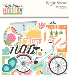 Hip Hop Hooray Bits & Pieces - Unit of 3