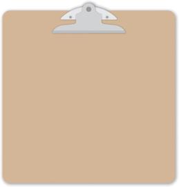 Natural (brown kraft) Clipart - Unit of 1