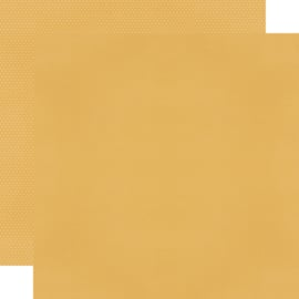 "Mustard Textured Cardstock Double Sided 12x12"" - Unit of 5"