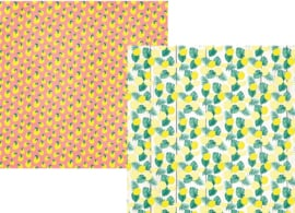 "Lemonade Stand Double Sided 12x12"" - Unit of 5"