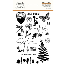SV Great Escape 4x6 Stamps - Unit of 2