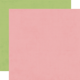 """Hey, Crafty Girl Rose/Pear Dots Double Sided 12x12"""" - Unit of 5"""