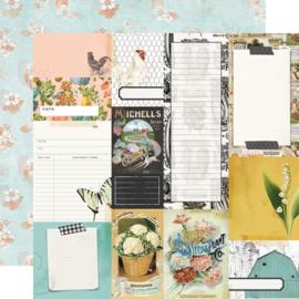 SV Farmhouse Garden - Journal Elements - Unit of 5