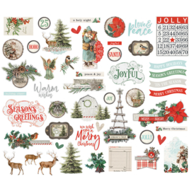 Country Christmas Bits & Pieces - Unit of 3