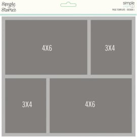 Simple Pages Page Template - Design 1 - Unit of 3