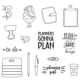 Plan It Stamps - Unit of 3