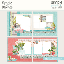 Simple Pages Page Kit - Beachy - Unit of 3
