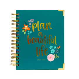 Plan a Beautiful Life 17-Month Spiral Planner