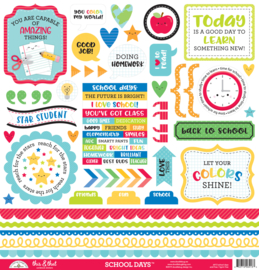 School Days This & That Stickers - unit of 3