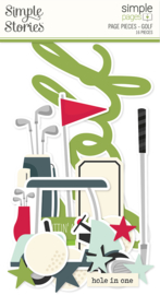 Simple Pages Page Pieces - Golf - unit of 6
