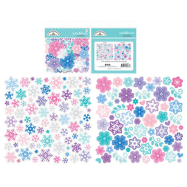 Winter Wonderland Snowflake Odds & Ends - unit of 3