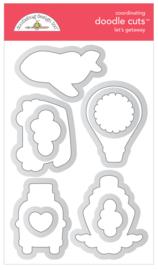 Let's Getaway Doodle Cuts - unit of 1