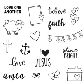 Faith Stamps - Unit of 3