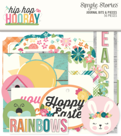 Hip Hop Hooray Journal Bits & Pieces - Unit of 3