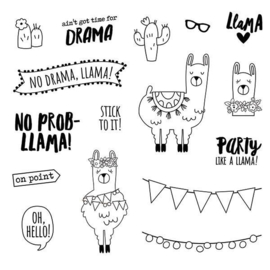 No Prob-Llama Stamps - Unit of 3