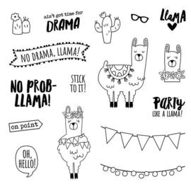 No Prob-Llama Stamps - Unit of 3