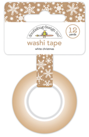 White Christmas Washi Tape - Unit of 3