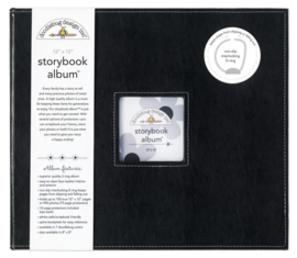 Beetle Black Storybook Album 12x12 - Unit of 1