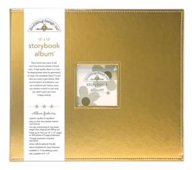 Gold Storybook Album 12x12 - Unit of 1
