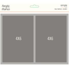 Simple Pages Page Template - Design 4 - Unit of 3