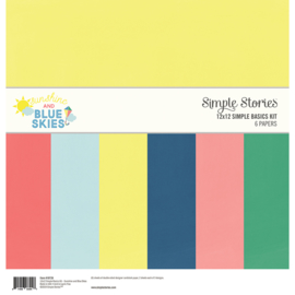 Sunshine and Blue Skies Simple Basics Kit - Unit of 3