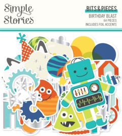 Birthday Blast Bits & Pieces - Unit of 3