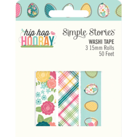 Hip Hop Hooray  Washi Tape - Unit of 3
