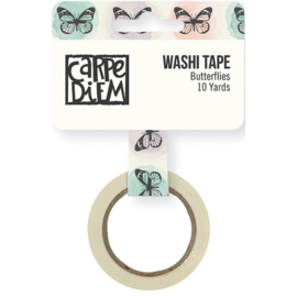 Butterflies Washi Tape- Unit of 3