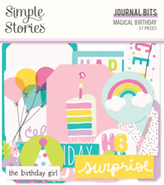 Magical Birthday  Journal Bits & Pieces - Unit of 3