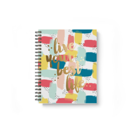 Your Best Life 17-Month Spiral Planner