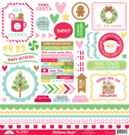 Christmas Magic This & That Stickers - unit of 3