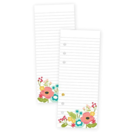Floral Bookmark Tablet - Unit of 3